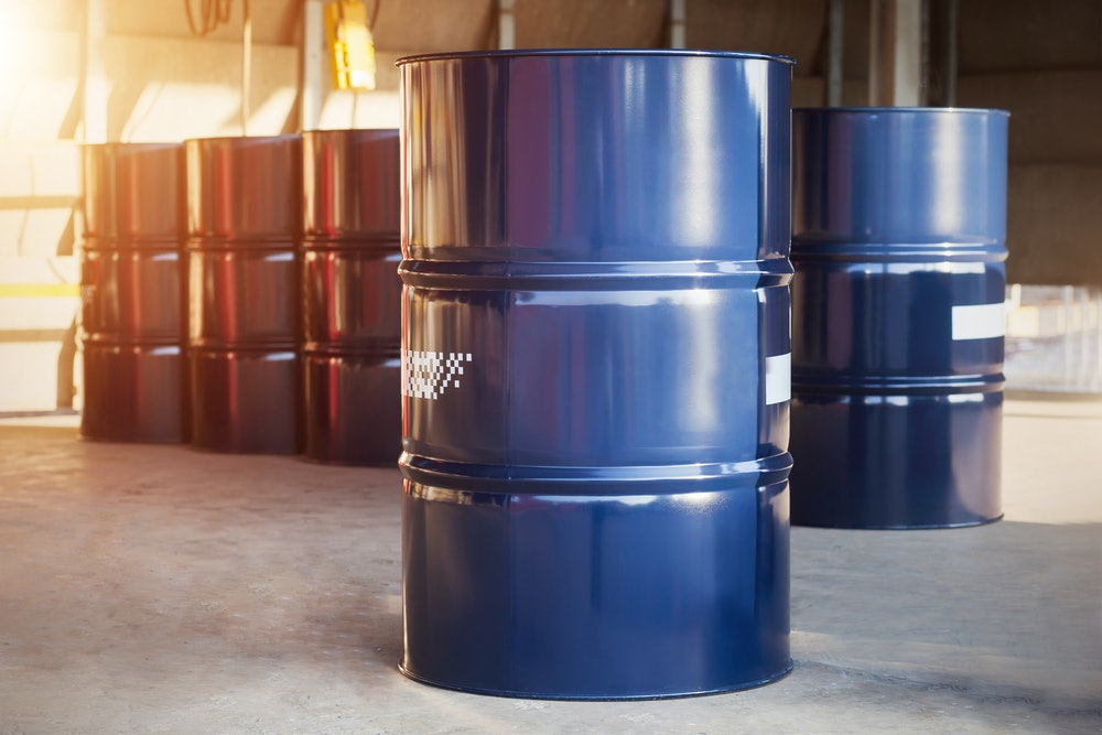 Drum for solvents